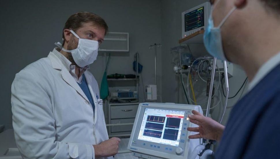 Instalaron el nuevo respirador en el hospital de Viamonte