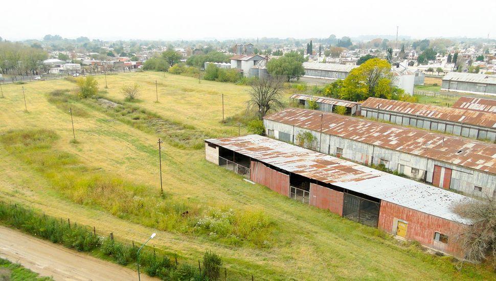 Un sector que compone las 28 hectáreas cedidas al Municipio.