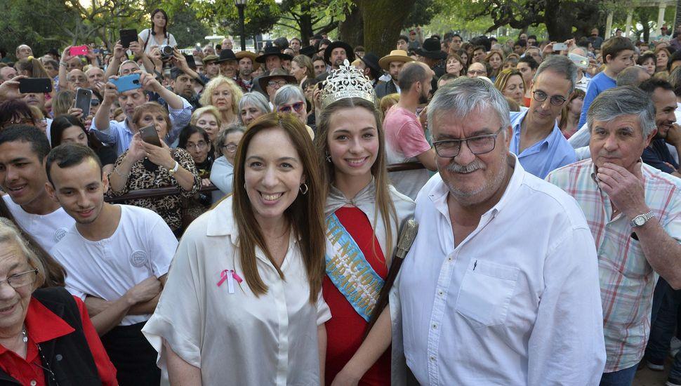 María Eugenia Vidal visitó la ciudad de Bragado