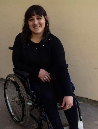 Mariana Araya tiene 27 años y vive en Chacabuco junto a su familia.