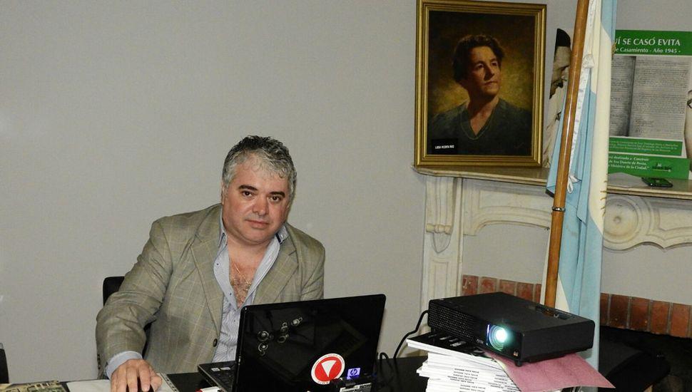 Germán Abdala, el autor.