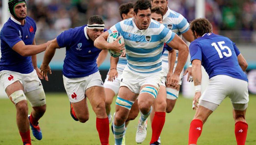 """""""Los Pumas"""" cayeron en el debut ante Francia y la tienen complicada en el Mundial de Rugby 2019."""