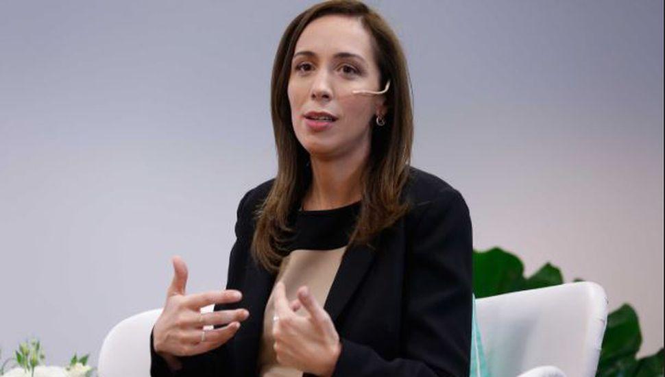 María Eugenia Vidal lanza su campaña a la reelección el sábado con un acto en La Plata