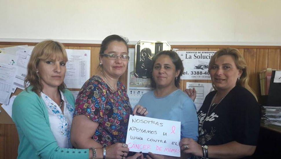 Campaña de prevención del cáncer de mama en Ameghino