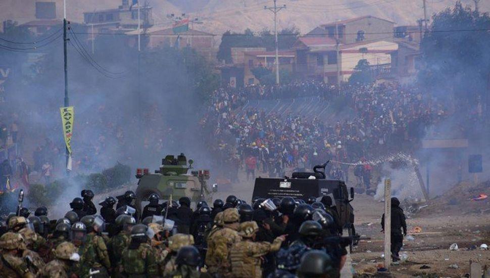 El gobierno de Jeanine Áñez desató una feroz represión sobre la sociedad civil.
