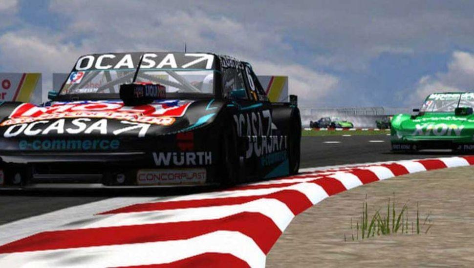 Leonel Pernía logró el segundo triunfo consecutivo en el TC Virtual.