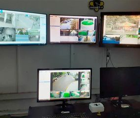Centro de Monitoreo Municipal.
