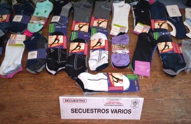Baigorrita: secuestraron mercadería a vendedores ambulantes