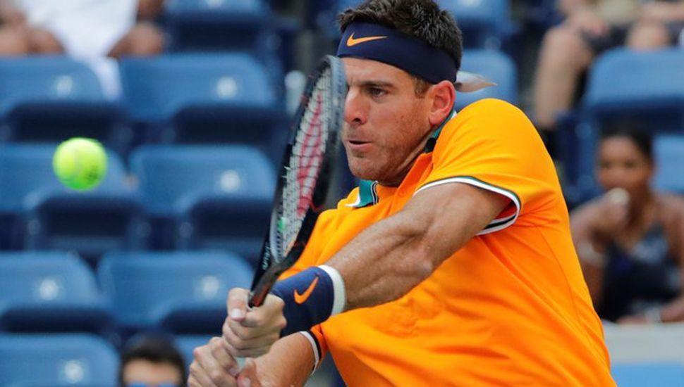Ganó Del Potro en sets seguidos y pasó a la tercera ronda del US Open