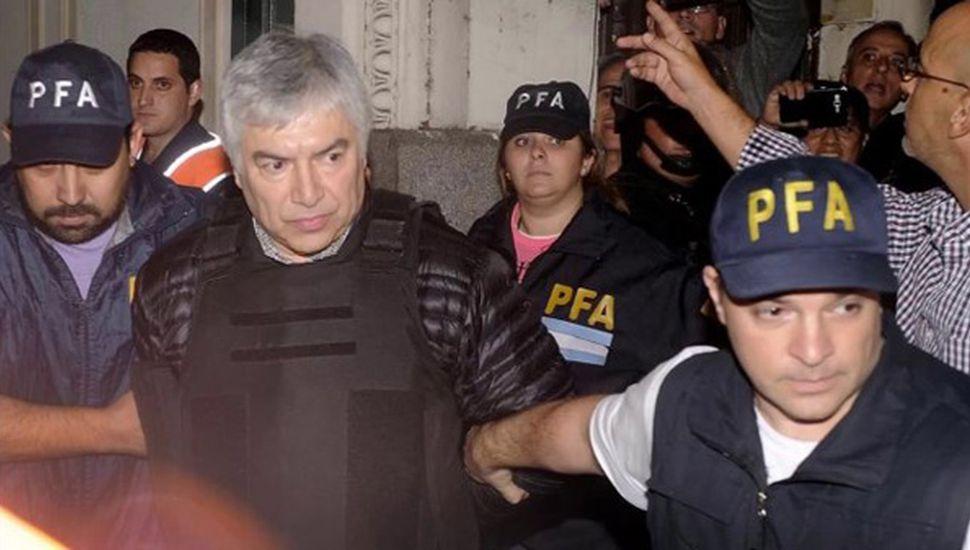 Lázaro Báez se negó a responder preguntas y pidió nulidad