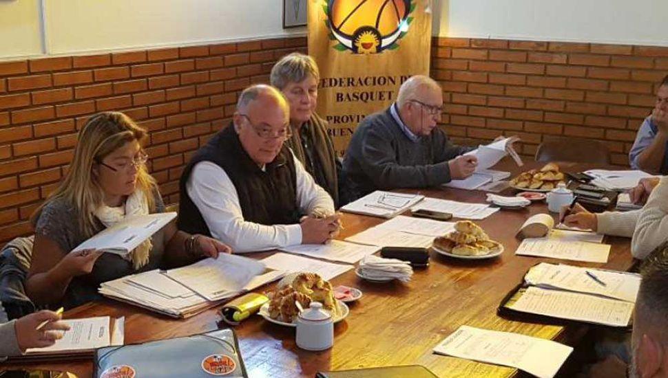 Reunión en la Federación, presidida por el juninense Miguel Ángel  Chami.