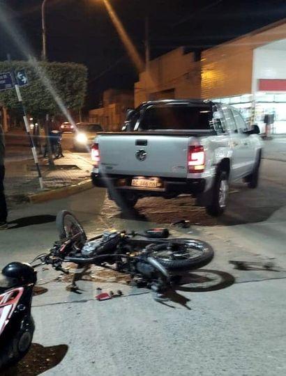 Accidente en Arenales: un herido
