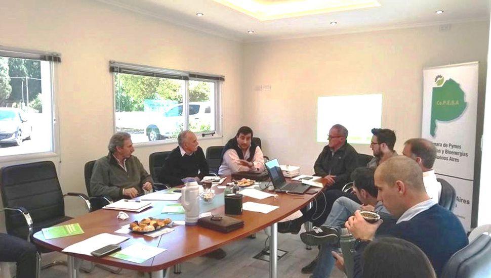 La reunión se llevó a cabo en la localidad de Chacabuco.