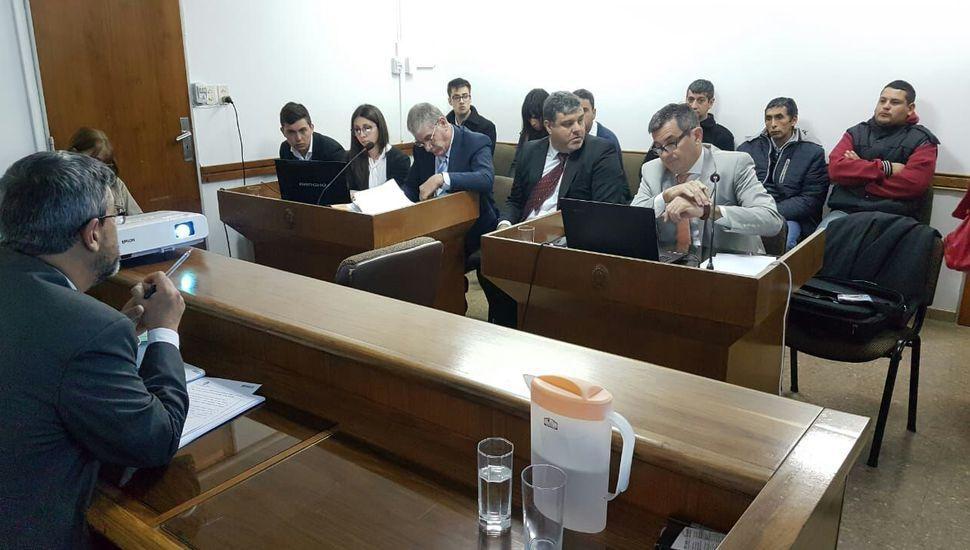 Comenzó el juicio por la  muerte de Alejandra Gauna