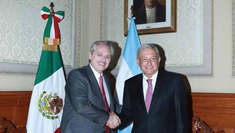 Fernández y López Obrador acordaron reforzar las relaciones bilaterales