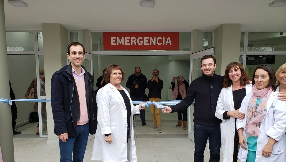 Inauguraron la nueva guardia del Hospital Interzonal