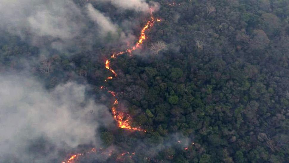 Declaran emergencia  ambiental por los incendios
