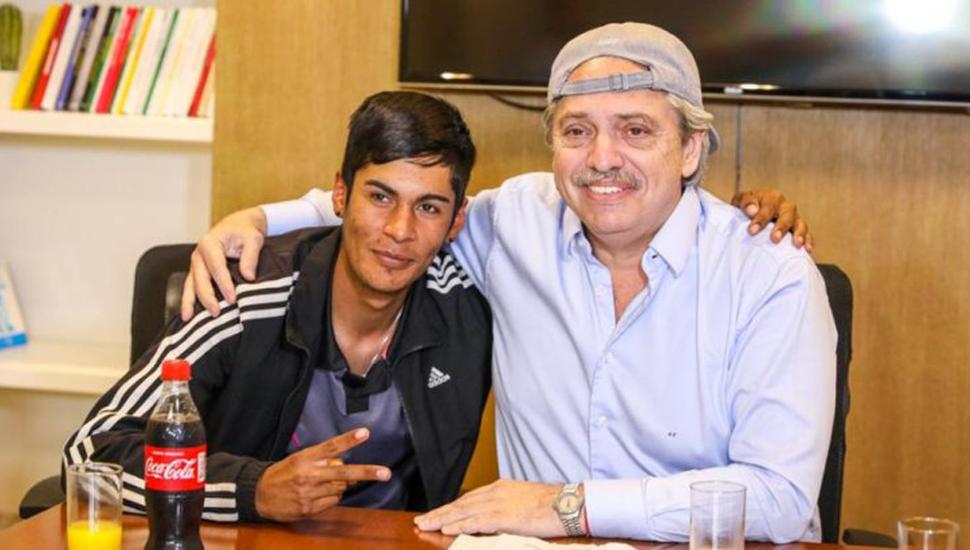 Alberto Fernández se reunió con el presidente de mesa discriminado.