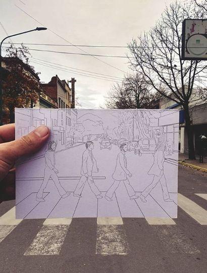 Los Beatles en Benito de Miguel.