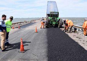 Afirman que la Ruta 7 sobre La Picasa  quedará habilitada a mediados de mes