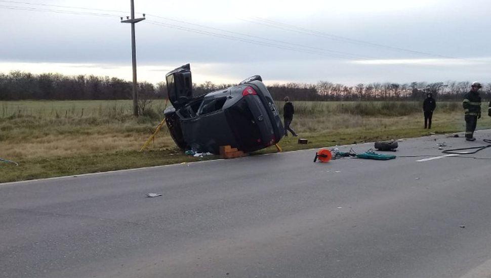 Accidente fatal en la Ruta 188: murió un hombre de 42 años