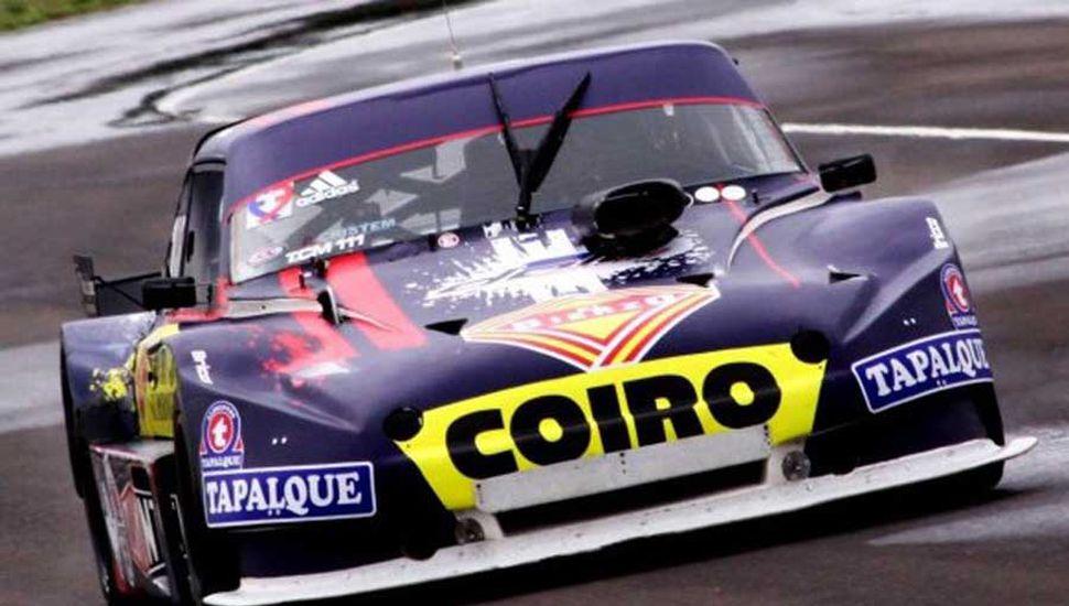 Nicolás Palazzo hizo el mejor tiempo del TC Mouras, con el Torino del Dole Racing.