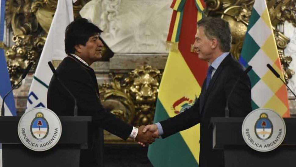 Macri y Evo relanzaron las relaciones de ambos países
