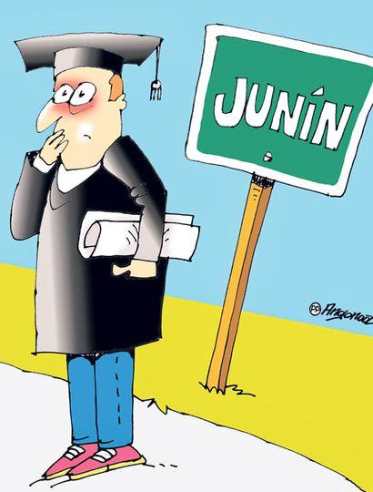 El 56% consideró que Junín es una ciudad para crecer profesionalmente