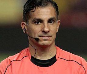 Hernán Maidana, el árbitro argentino con más partidos arbitrados en mundiales.