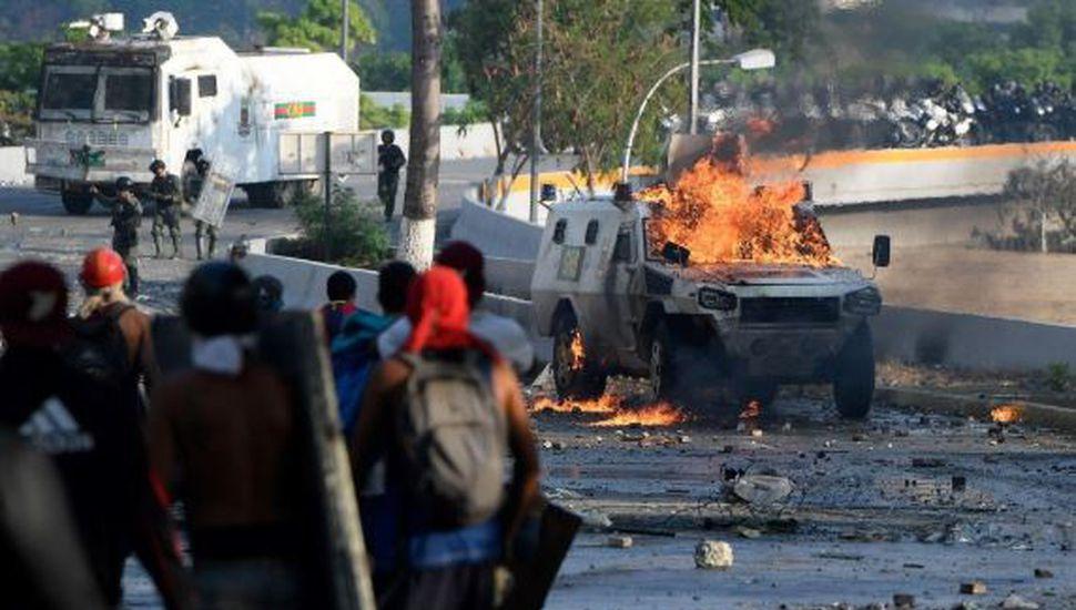 La ONU elevó a 5 los muertos por las protestas en Venezuela