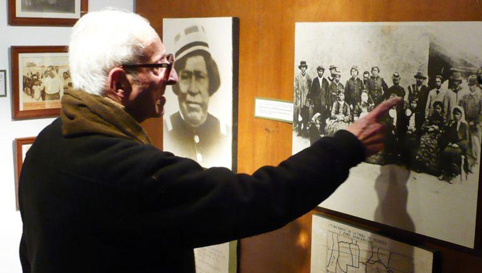 Meinrado Hux murió el 5 de noviembre de 2011. (Foto Jorge Herce)