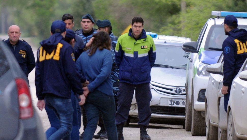 Quedaron detenidos los vecinos involucrados en la desaparición de la niña en Punta Indio