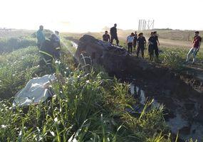 Tres heridos en otro accidente sobre la Ruta 7, donde termina la autopista