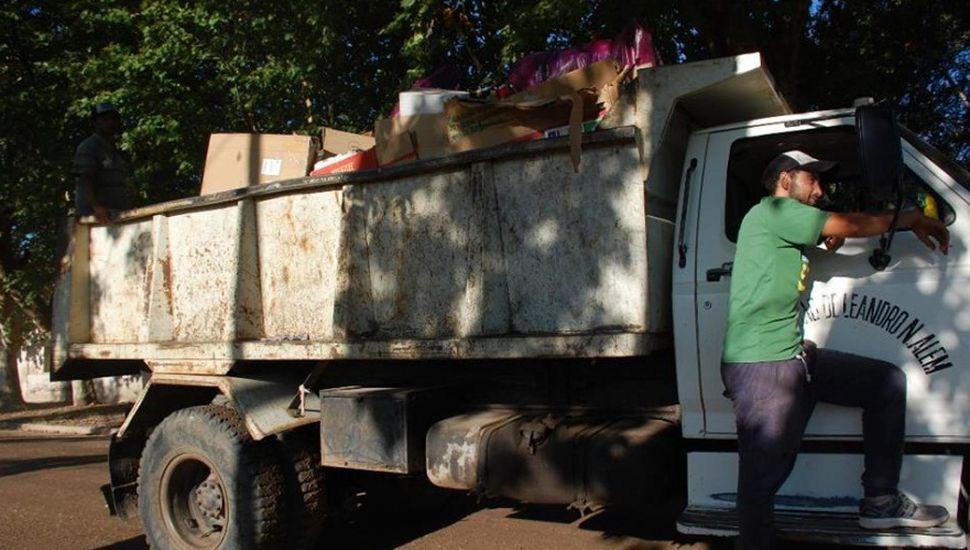 Separación de residuos en Alem: cada vez más vecinos se suman a la iniciativa