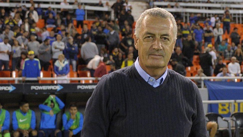 Gustavo Alfaro, DT de Boca.