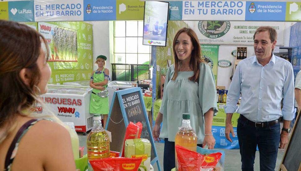 Vidal encabezó la reunión semanal de Gabinete, en La Plata.