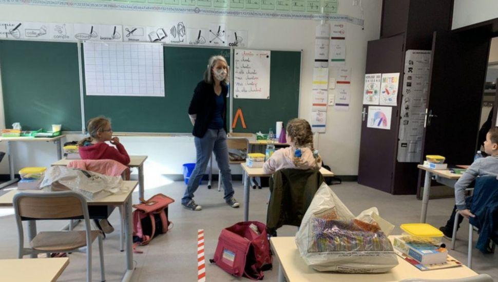 Francia: cerraron 70 escuelas por detección de casos de coronavirus