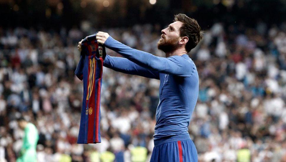 Messi fue elegido el mejor futbolista de la historia de España