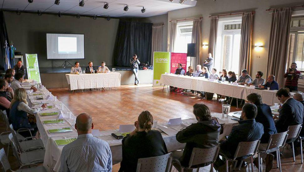 Junín fue sede del tercer encuentro de la mesa ambiental bonaerense