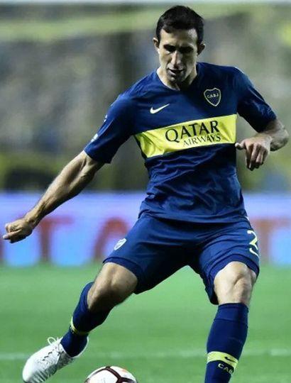 Carlos Izquierdoz, zaguero central de Boca Jrs.