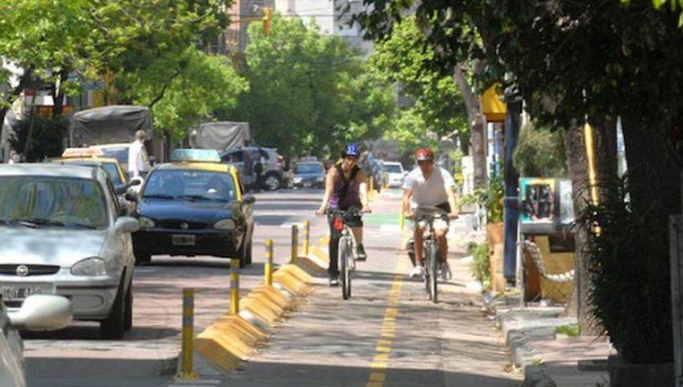 Avanza el proyecto de la red de ciclovías en Chacabuco