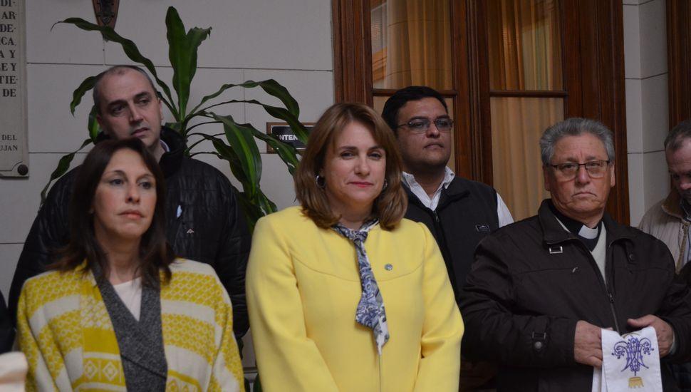 Realizaron el acto por el Día de la Independencia en Arenales