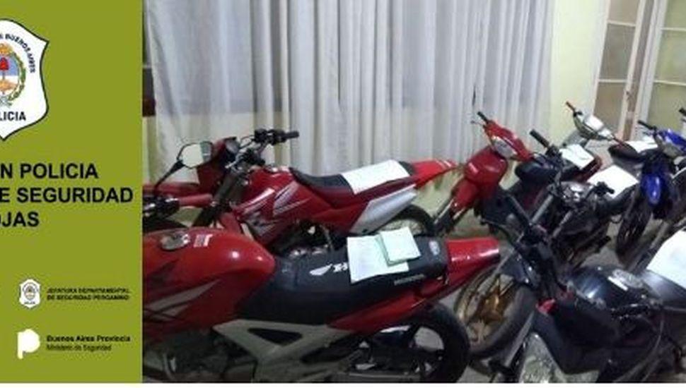 Secuestraron ocho motocicletas por infracciones a la ley de tránsito