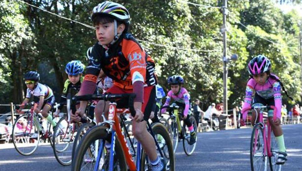 Las categorías infantiles definirán sus campeonatos de ciclismo, hoy en el