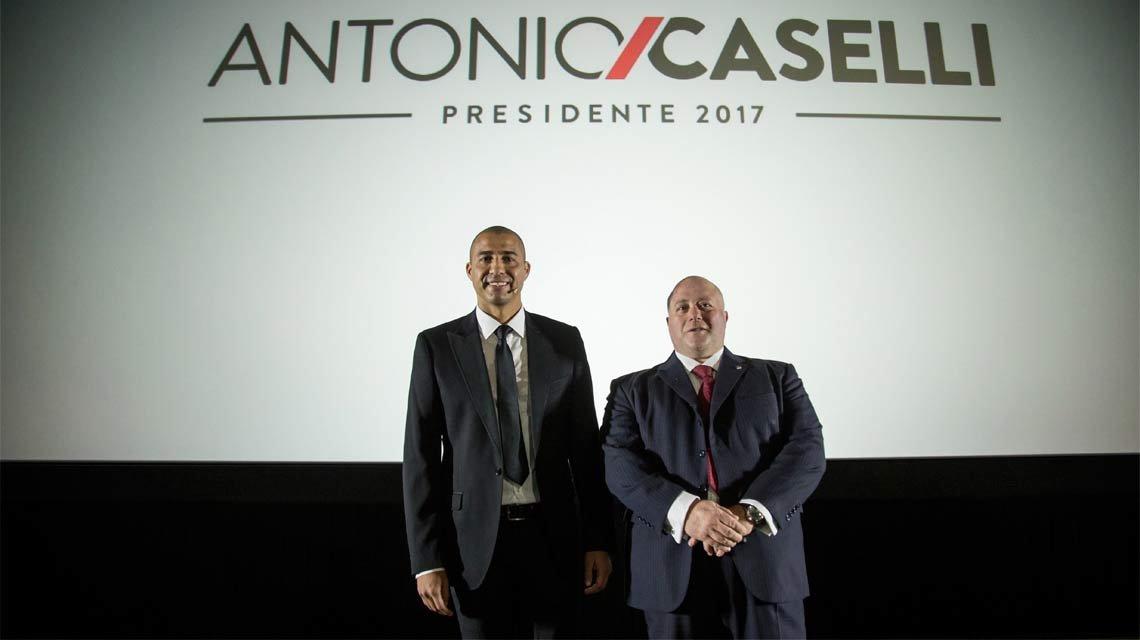 Trezeguet fue presentado como manager deportivo en la lista de Caselli • Diario Democracia