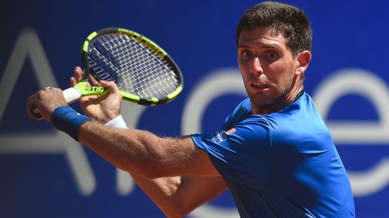 Federico Delbonis enfrenta a Roger Federer en Indian Wells • Diario  Democracia