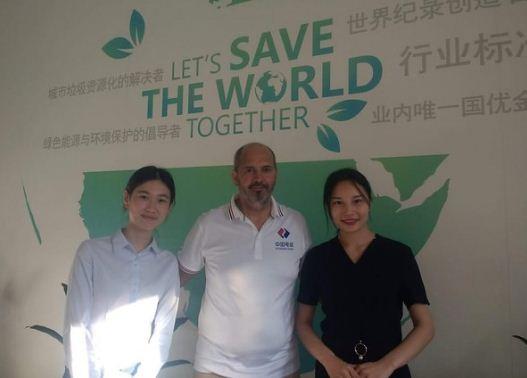 En China, Lincoln participó de un seminario internacional sobre energías renovables - Diario Democracia