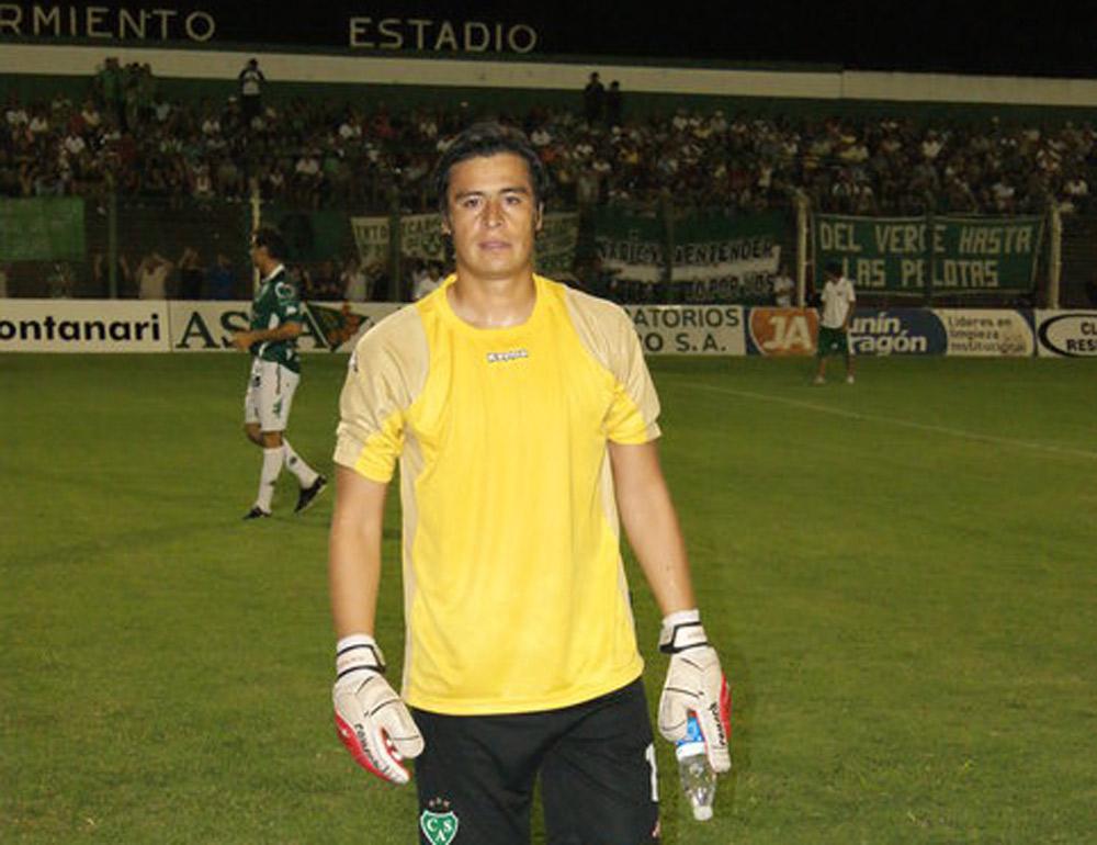 El arquero Cristian Moyano se retiró del fútbol profesional • Diario Democracia