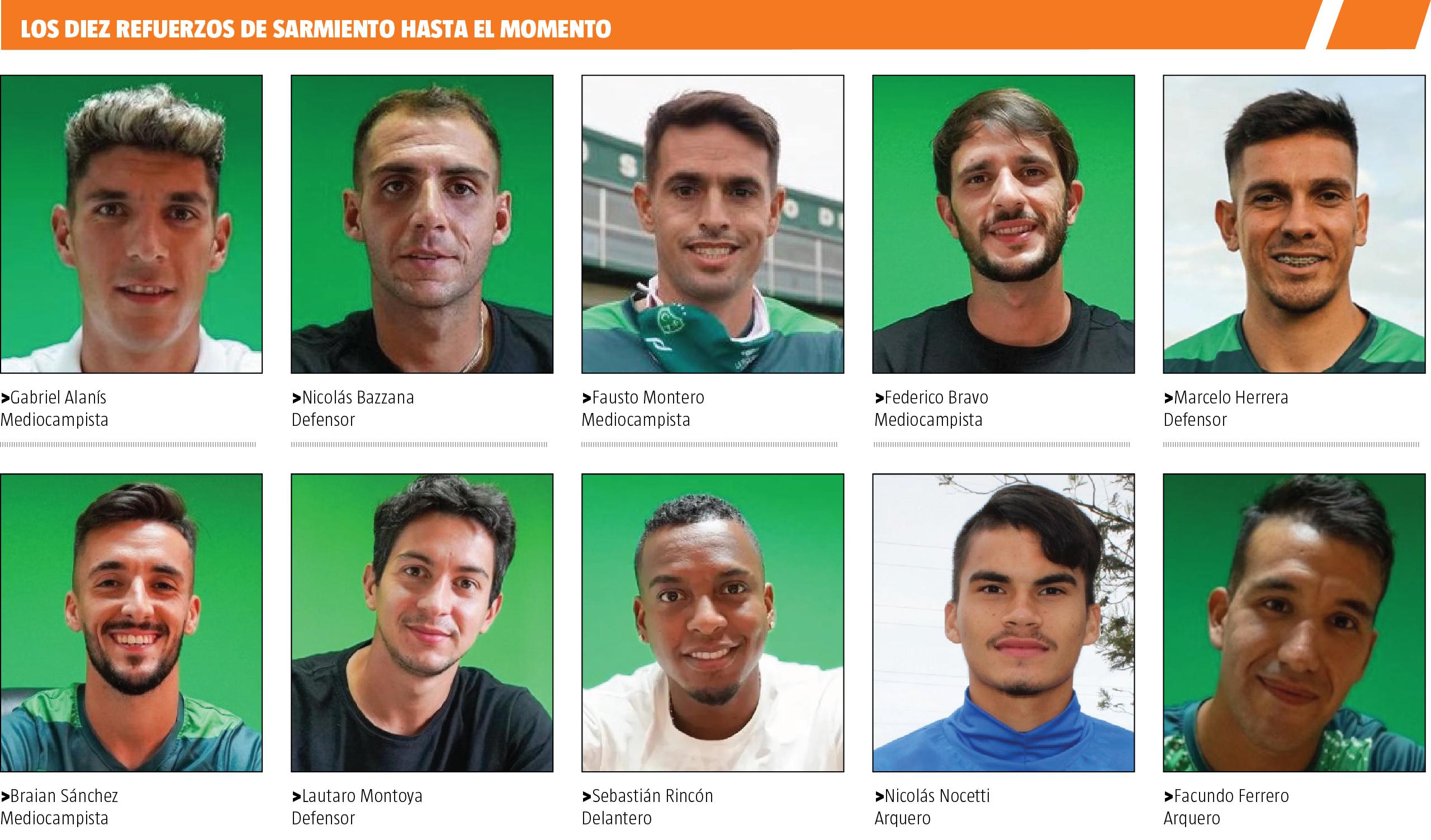 club atletico sarmiento de junin - nuevas incorporaciones 2021