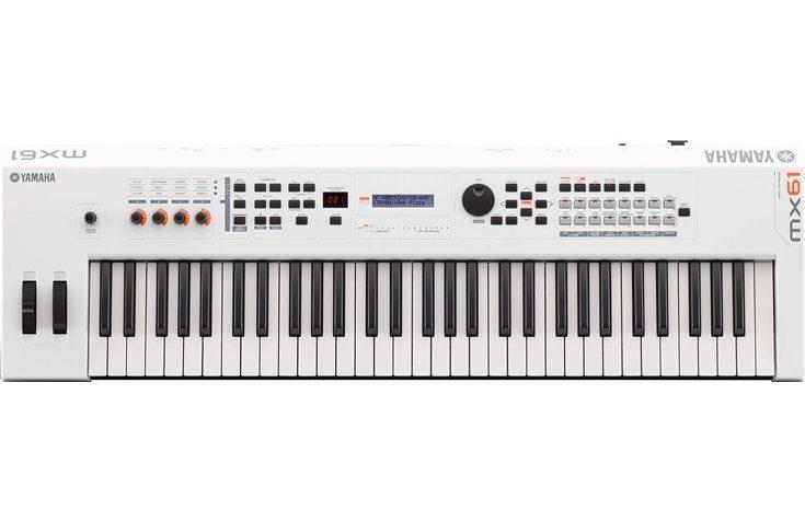 keyboard yamaha mx61_wh